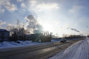 Мороз и солнце в Череповце